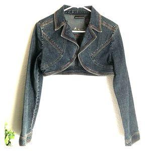 DKNY Denim Bolero Jacket